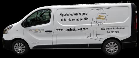 Keskikokoiset ja isot paketit Tampereen alueella - Kehystyspalvelu Nyström